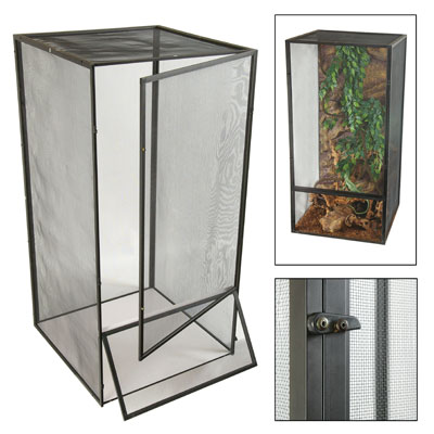 Zoo Med ReptiBreeze Large Open Air Screen Cage