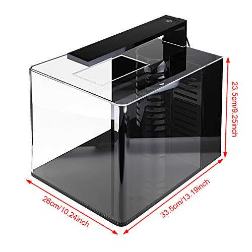 ISWEES Betta Fish Tank Complete Aquarium Kit