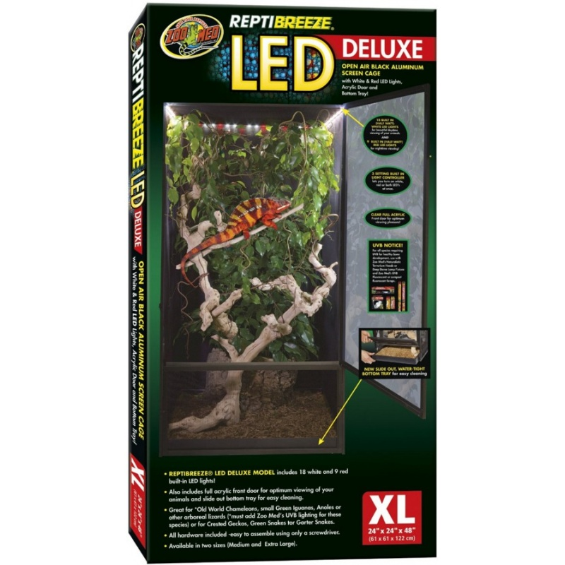 Zoo Med ReptiBreeze LED Deluxe Extra Large